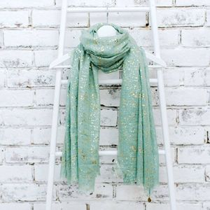 Personalised Metallic Scarf - gifts for her