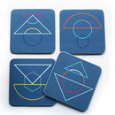 Outlines Coaster Set