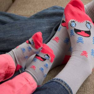 Mother And Daughter Character Sock Set - women's fashion