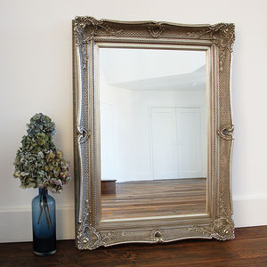Champagne Silver Marianne Wall Mirror - mirrors