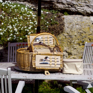 Boat Shaped Picnic Hamper