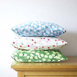 Japanese Textile Cushion Cover - patterned cushions