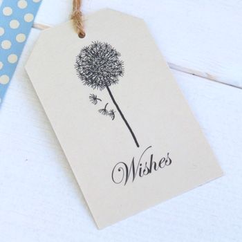 Wedding Wishing Tree Tags Set Of 10