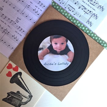 Bespoke Lullaby 'Baby's First Christmas' Recording