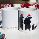 Christmas Family Bear Mug