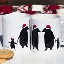 Christmas Penguin Family Mug