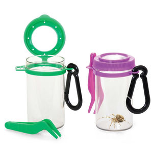 Bug Insect Viewer With Magnifying Glass And Tweezer - toys & games