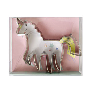 Unicorn Shaped Cookie Cutter - unicorns