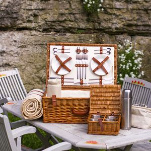 Fitted Picnic Hamper - gifts for him