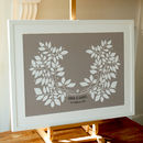 Personalised Wedding Guest Book Picture
