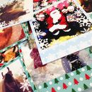 Personalised Polaroid Style Festive Photo Cards