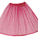 Sequin Fuchsia Skirt