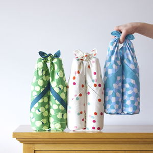 Japanese Bottle Carry Wrap - lunch boxes & bags