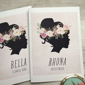 Silhouette Bridesmaid Card - what's new