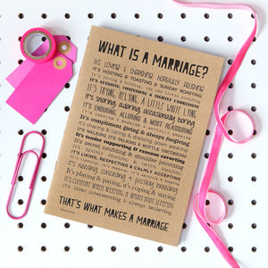 Marriage Poem Slim Notebook - best wedding gifts