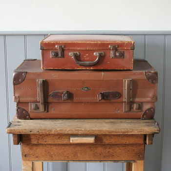Brown Suitcase Sc9