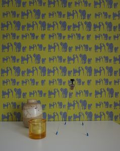 Elephant Family Fsc Certified Wallpaper Two Rolls Left