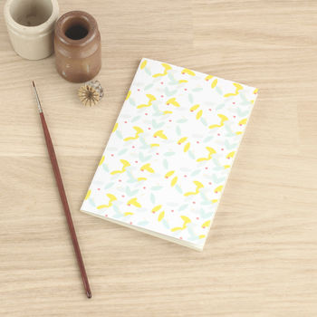 A6 Notebook With Ruled Lines 'Confetti'