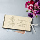 Personalised Wooden Money Wedding Gift Envelopes