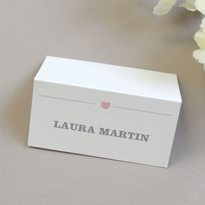 Amelia Personalised Place Card/Name Card - decoration
