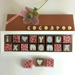 Mothers Day Chocolates For Mum, Mom Or Maman