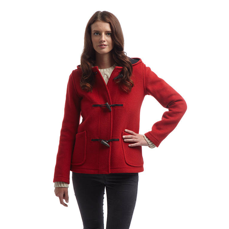women's short duffle coat by original montgomery ...