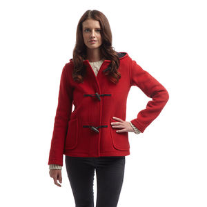 Women's Short Duffle Coat - coats & jackets