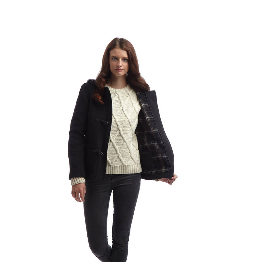 Womens Short Duffle Coat | Down Coat