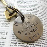 Personalised Friendship Keyring - food & drink