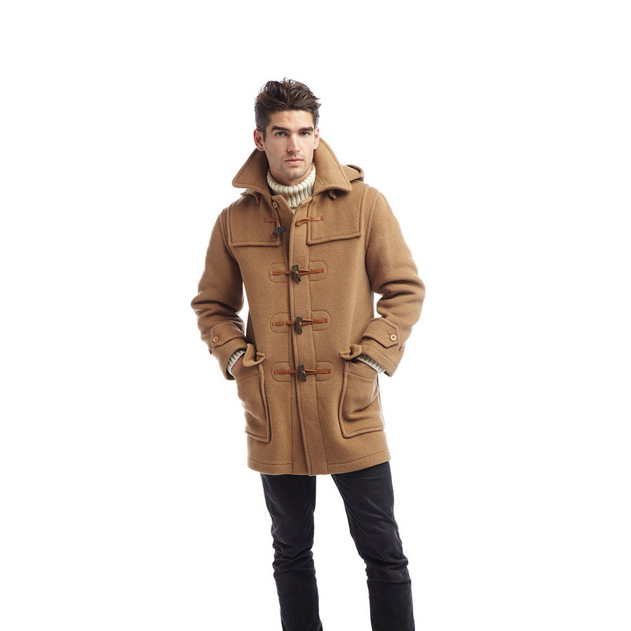 men's london duffle coat by original montgomery ...