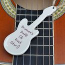 Personalised Father's Guitar Gift