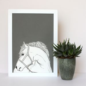 Bespoke Horse Portraits - prints & art sale