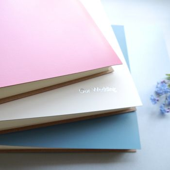 peony pink, ivory and china blue