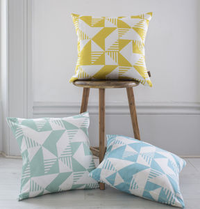 Simple Geo Cushion - patterned cushions