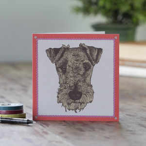 Hand Drawn Dog Greeting Cards - winter sale