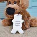 Father's Keyring Teddy Gift
