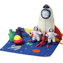 Space Rocket Soft Play Set