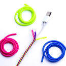 Colourful Charger Cord Wraps