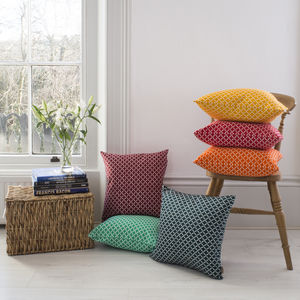 Retro Diamond Cushion - cushions