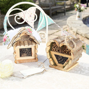Set Of Two Wooden Insect Houses - gardener