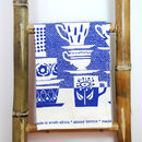Teacup Tea Towels