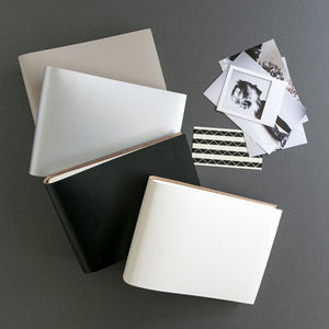 Classic Personalised Leather Albums - photo albums