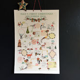 Keepsake Personalised Baby's First Advent Calendar - christmas decorations