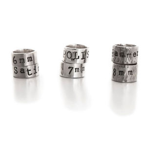 Individual Personalised Silver Story Beads - charm jewellery