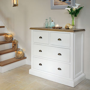 French Country Two Over Two Chest - chests of drawers