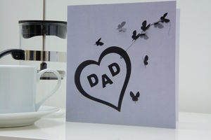 Dad Butterfly Card