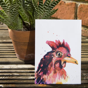 Inky Chicken Postcards - view all sale items