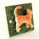 Decorative Cat Light Switch