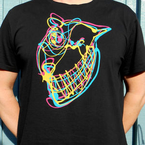 Wild Downhill Face T Shirt