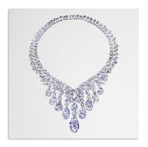Crystal Necklace Card